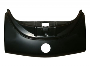 Front panel, without bumperbracket hole