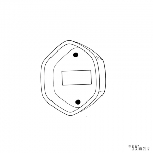 Door checkrod seals, each Original German quality
