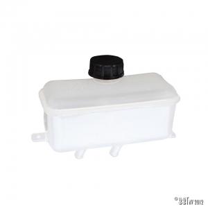 Brake fluid reservoir, rectangle
