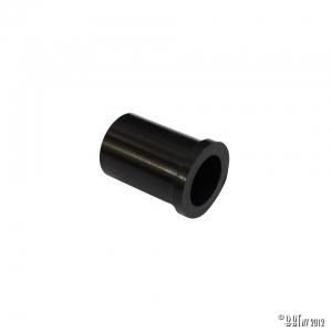 Grommet sleeve on plastic reservoir tube