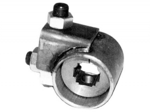 Front axle adjuster for ball joint suspension