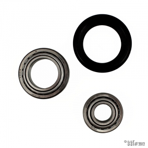 Bearings disc, front, by wheel