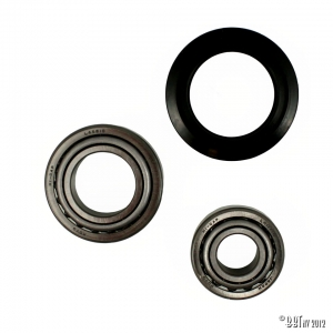 Bearings drum and disc front, by wheel