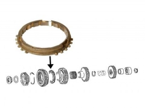 Synchronize ring for 1st and 2nd speed, each original
