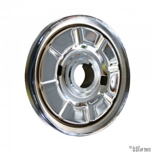Standard pulley, chrome