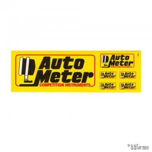 Sticker kit Auto Meter mini